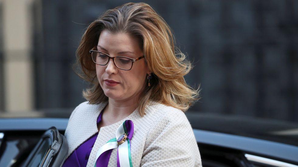 .Penny Mordaunt, ministra de Cooperación Internacional