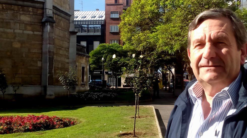 Javier Fernández interviene en el pleno de la Junta General.Fernando Díaz Rañón