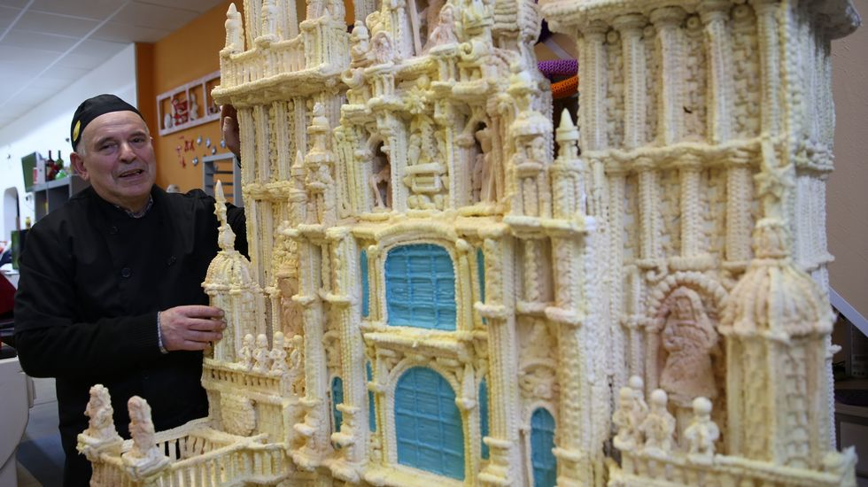 La versión más dulce de la catedral de Santiago