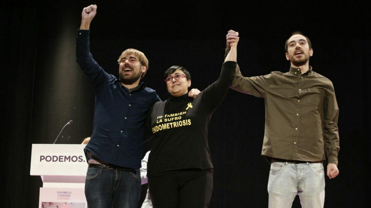 .Daniel Ripa, Vanesa Llaneza y Héctor Piernavieja