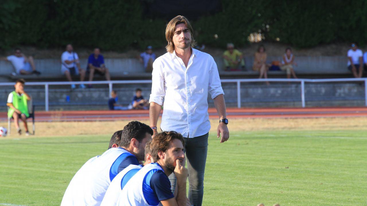 «En el banquillo estaba nervioso, no sabía para dónde ir».Inter-Fabril