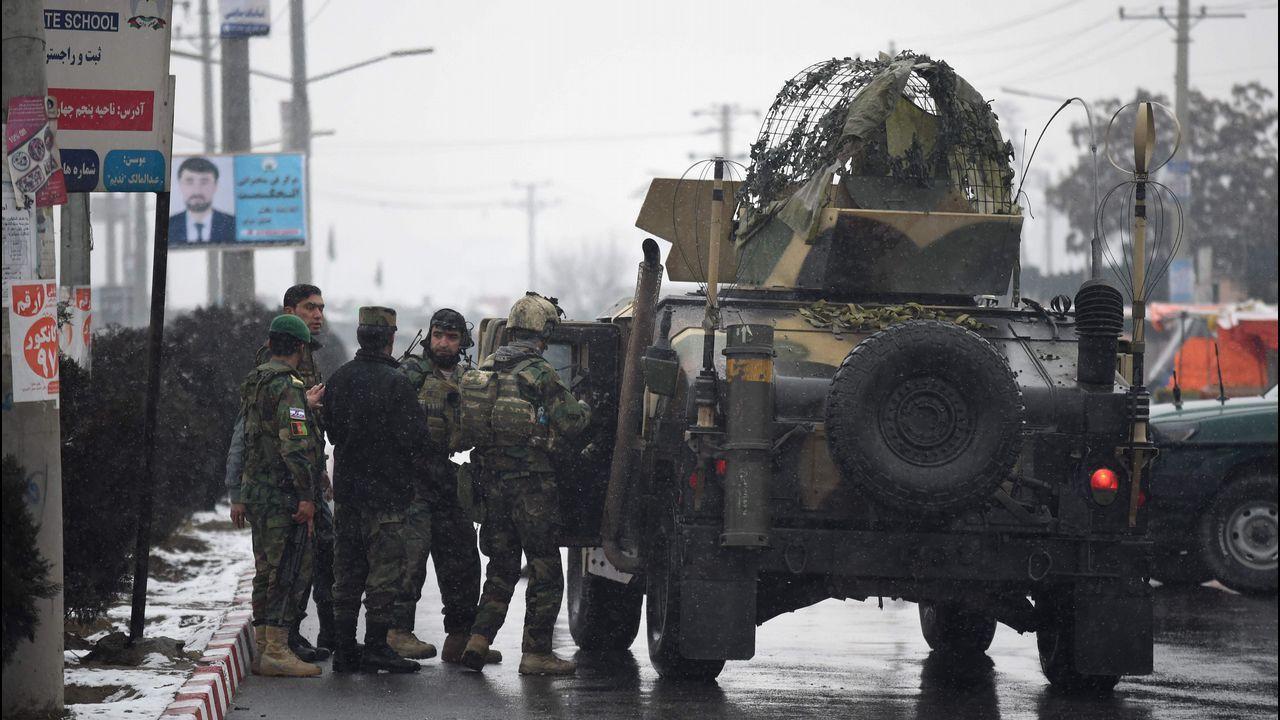 Viaje a las entrañas de un patrullero de la Armada española.Atentado en Kabul
