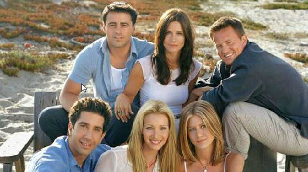 La escena de la broma sobre bombas eliminada de «Friends»