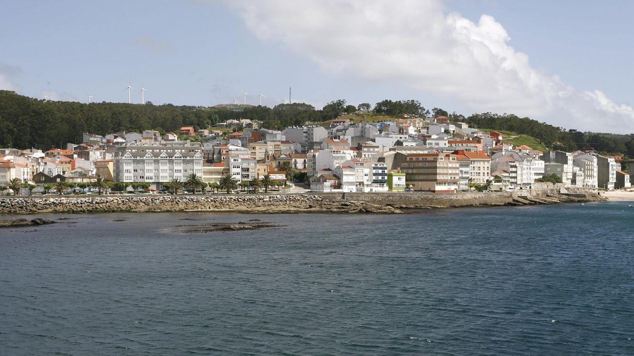 El puerto de Fisterra, en una foto de archivo