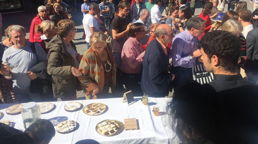Hasta el papel se puede comer en la feria gourmet de Pontevedra