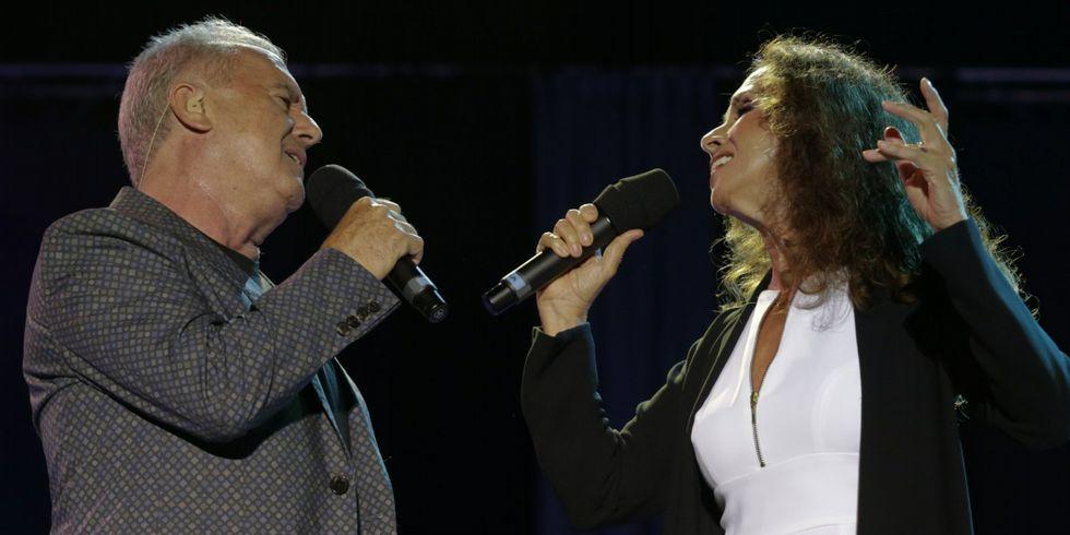 Rumba a lo desconocido, el último trabajo de Estopa.Víctor y Ana actuaron el pasado agosto en María Pita.