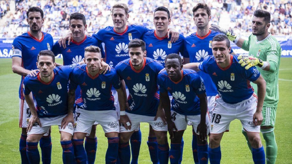 Once titular del Oviedo ante el Cádiz