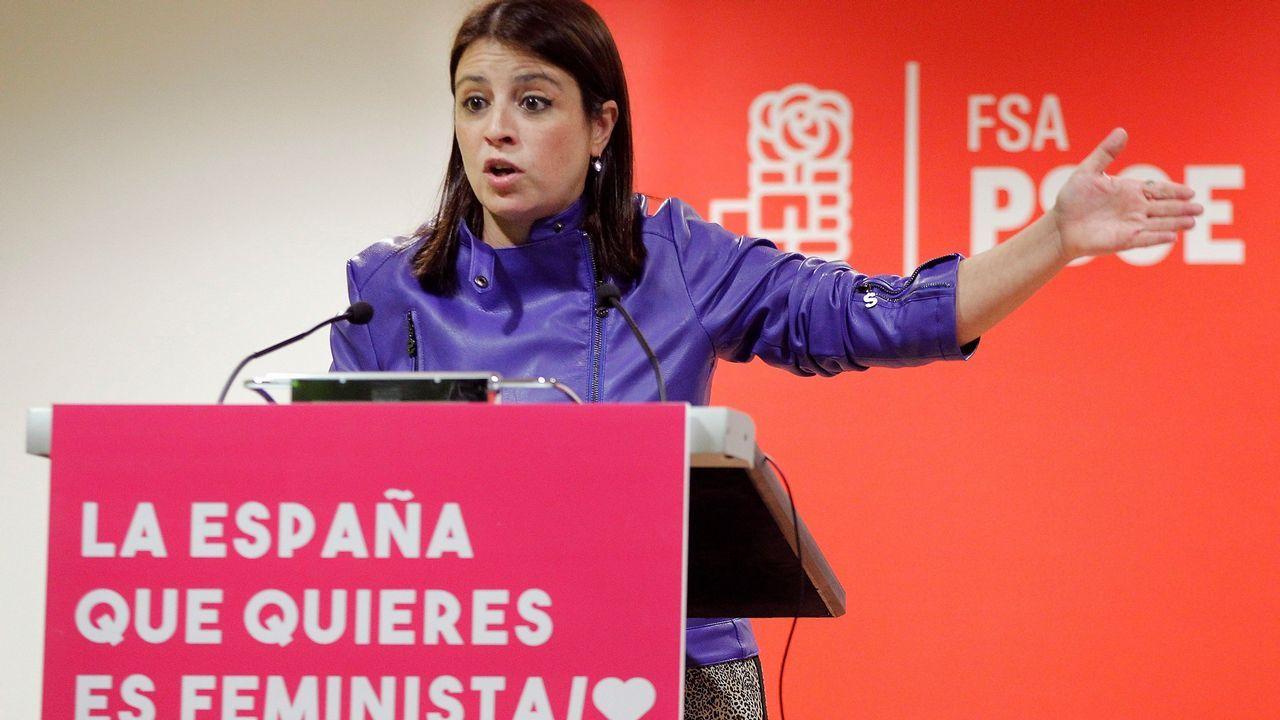 | EFE. La vicesecretaria general del PSOE, Adriana Lastra