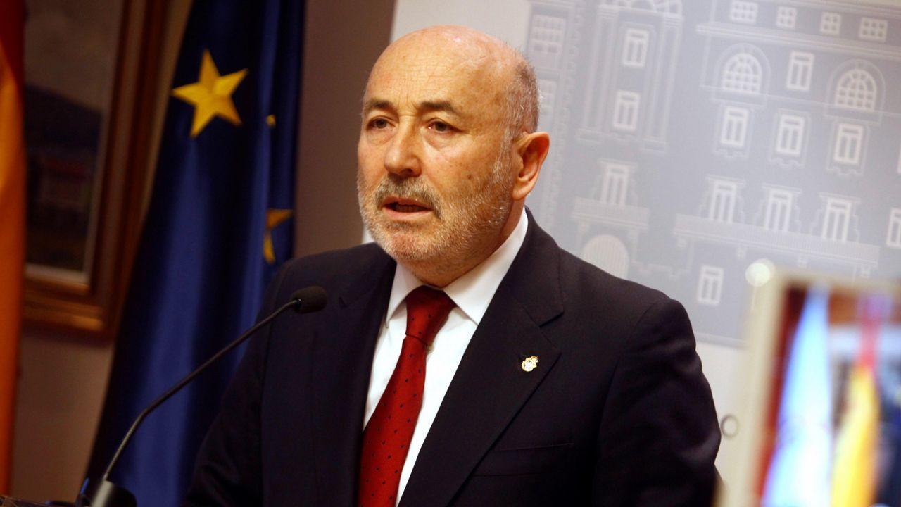 | EFE.El delegado del Gobierno, Javier Losada