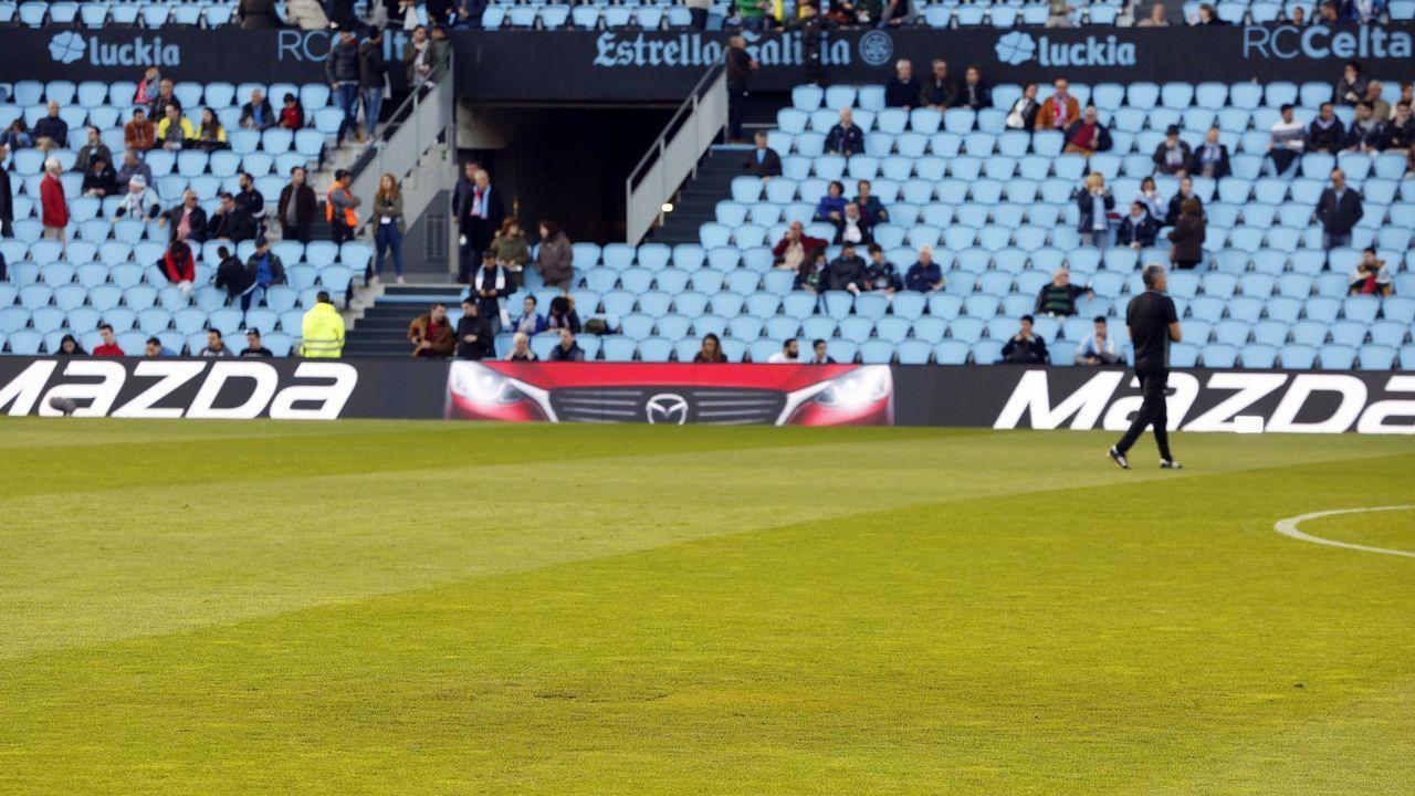 La Liga multó al Celta de Vigo por mostrar con poco público