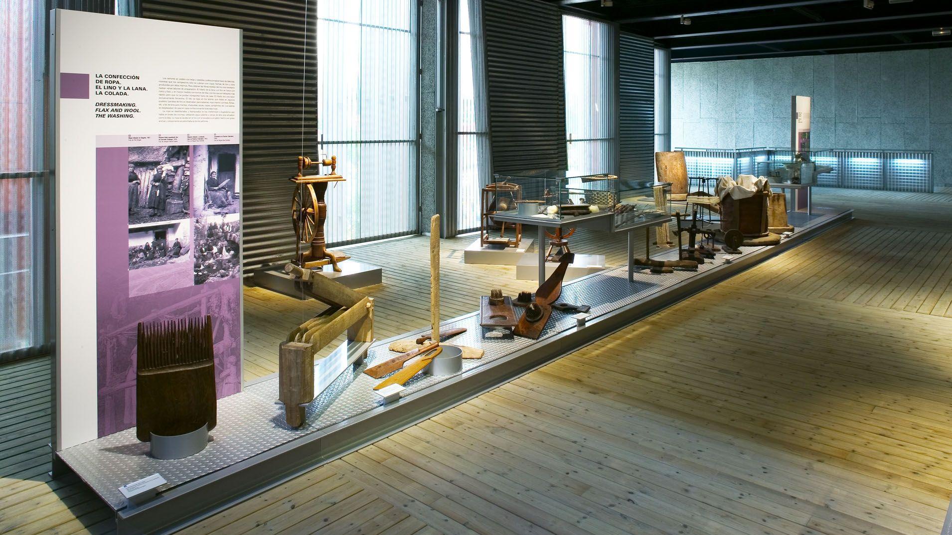 Interior del Museo del Pueblo de Asturias
