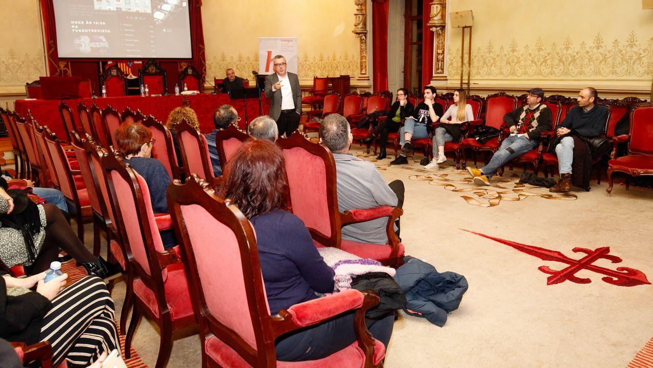 Las imágenes de la primera jornada de Ibernáutica, en Cerceda.Carmen López, directora de la Federación Gallega de Enfermedades Raras