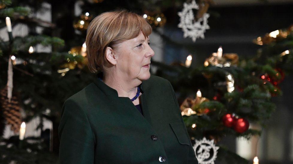 Rocío compara la figura de Merkel con la de Fraga en Galicia a finales del siglo pasado