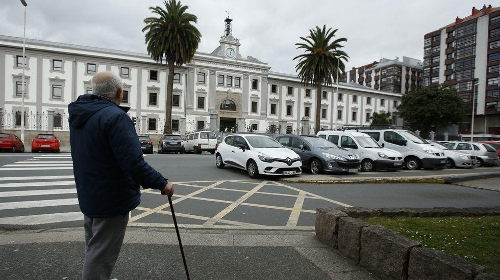 GALERÍA: Así es la nueva Audiencia Provincial de A Coruña