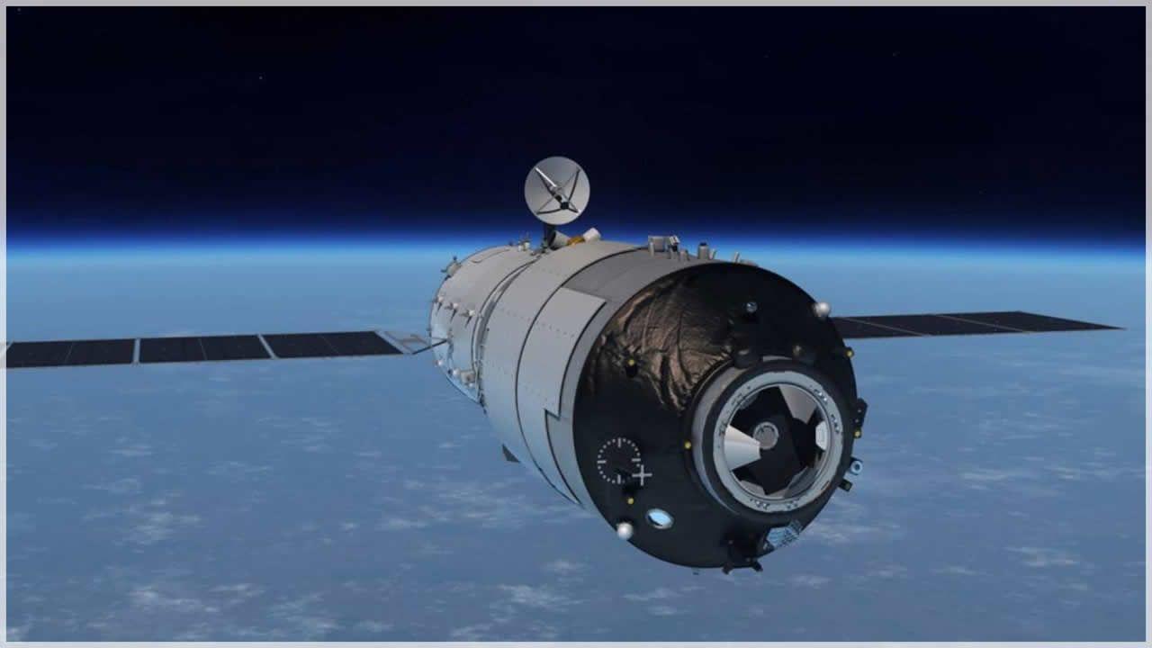 La estación espacial «Tiangong-1» avanza descontrolada hacia la Tierra.Fue recibido como una estrella en Santiago