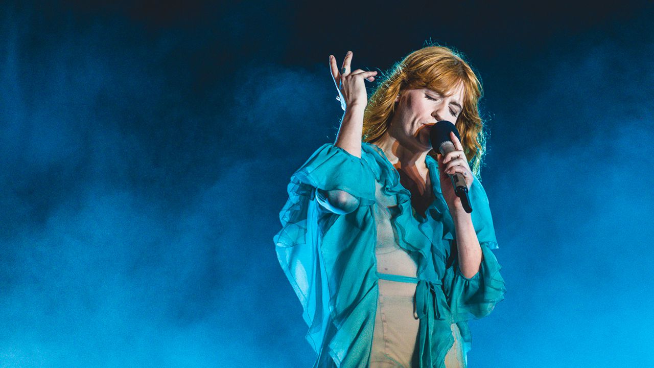 .Florence + The Machine es un de los cabezas de cartel en el Bilbao BBK Live (España)