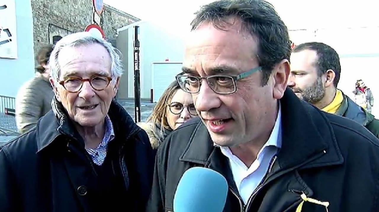 Rull sostiene que harán presidente a Puigdemont porque es «perfectamente legal».Homenaje a Pepe Rubianes en Barcelona