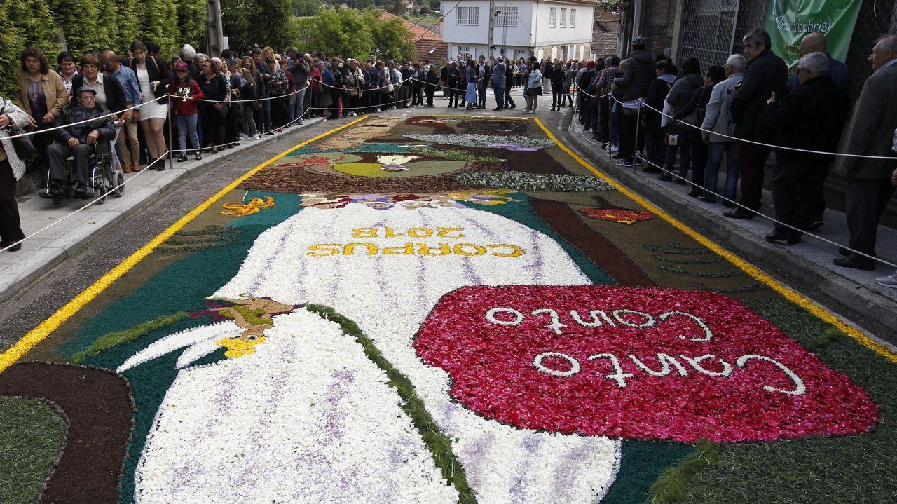 Bueu, unas alfombras de Interese Turístico de Galicia