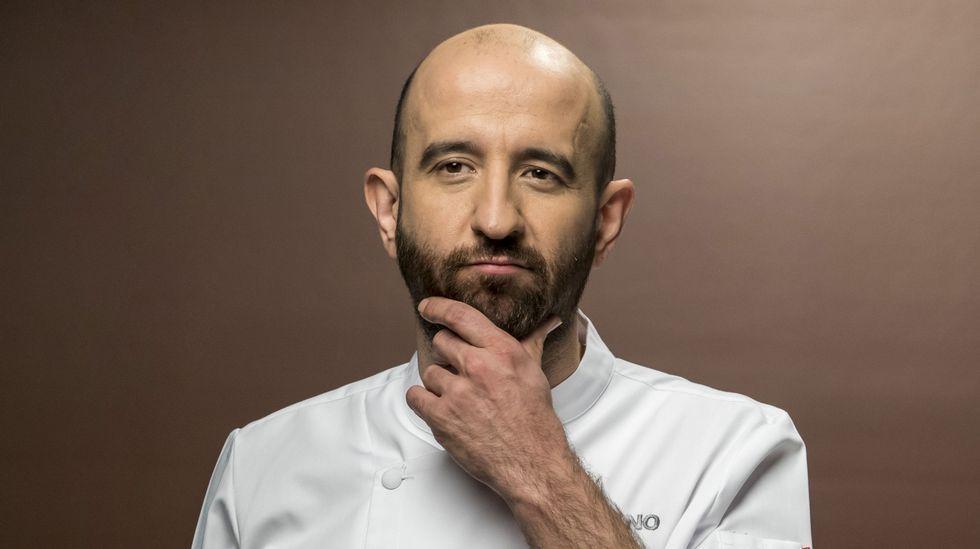 «Cuando llego a Galicia me entran ganas de coger una sartén y un cuchillo».Taco thai del restaurante El Medio Lleno, de Gijón