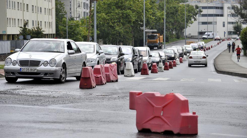 Restricción viaria en Telleiras