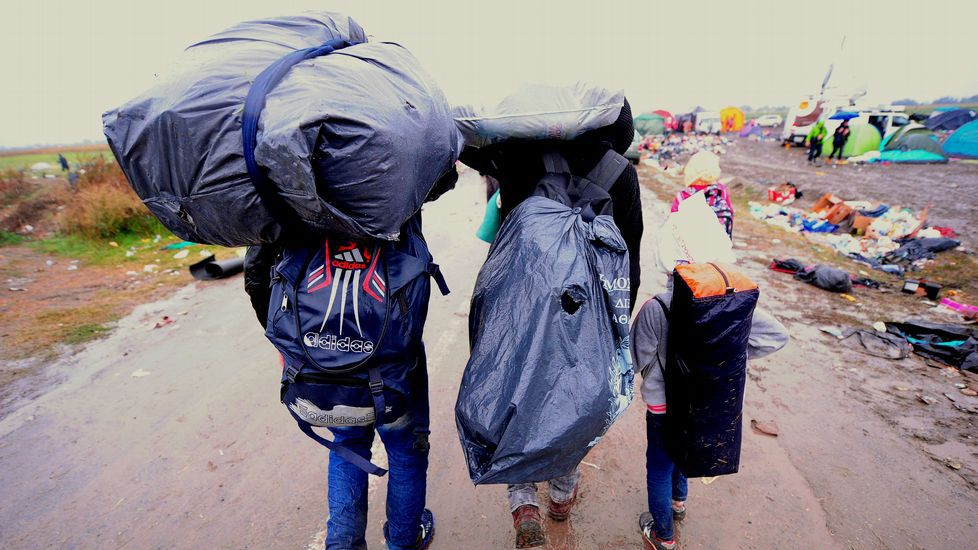 La vida en la frontera entre Serbia y Hungría.Imagen de Abdul Basit
