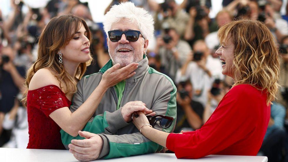 La gala de los premios Bafta.Fotograma de la película 100 días de soledad