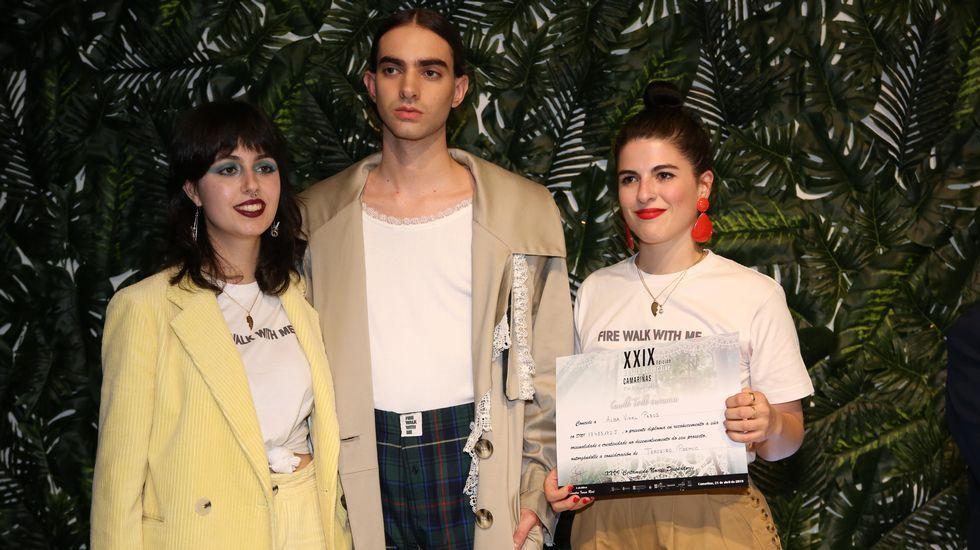 Laura Pedrouso y Alba Vidal logron el tercer premio por «Fire walk with me»