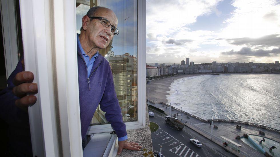 El regreso de Irureta a A Coruña.Armando Álvarez, ex futbolista del Oviedo