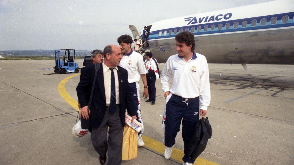 Aterrizaje en Río.