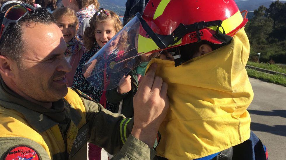 La lucha contra los incendios a ojos de los niños.