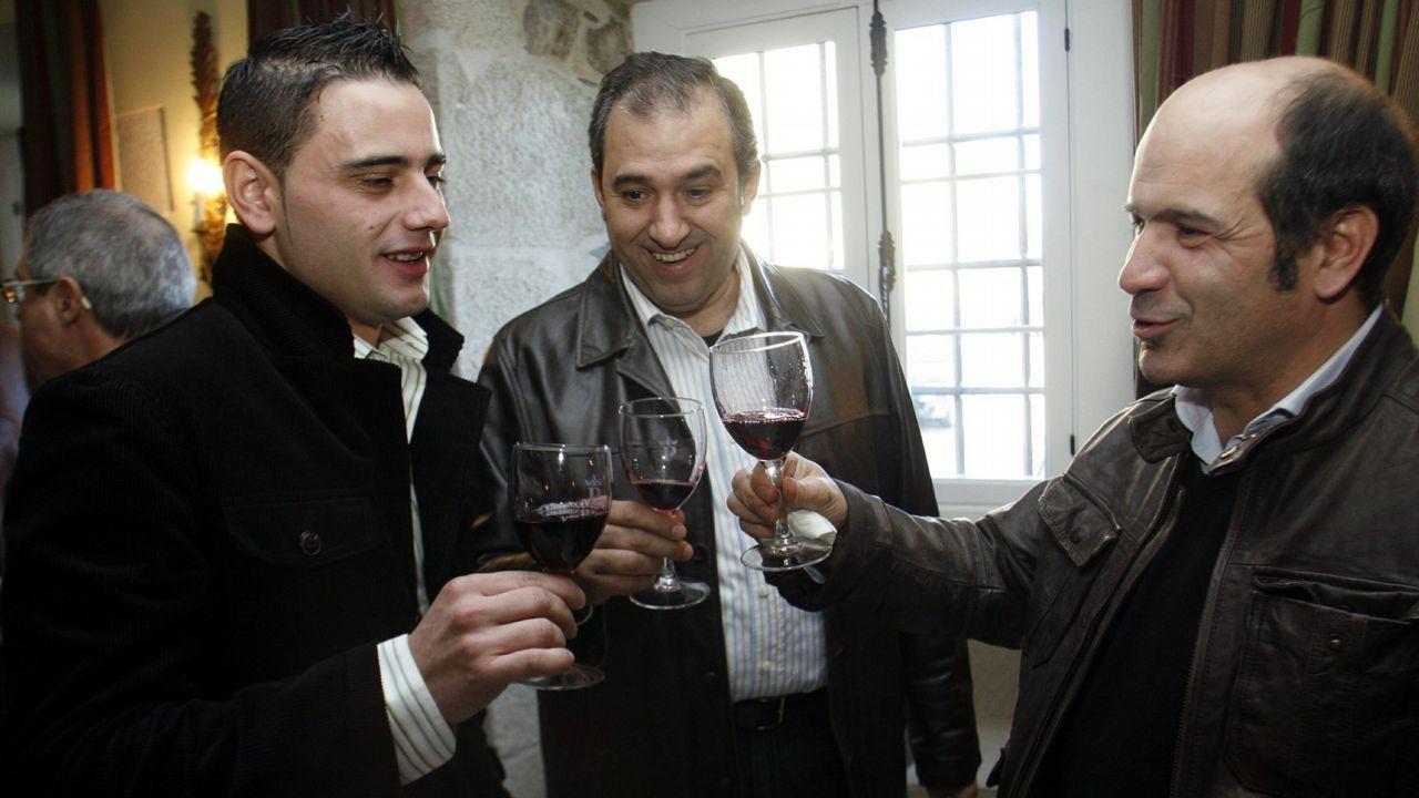 Los motivos de la Ribeira Sacra para ser Patrimonio de la Humanidad.El conselleiro de Cultura, Román Rodríguez, se entrevistó con los 21 alcaldes de Ribeira Sacra