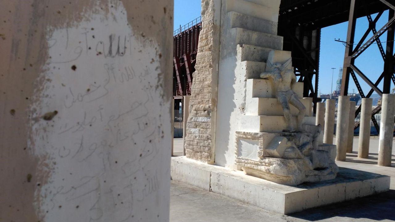 monumento víctimas nazismo.Luis Pacho, concejal de Ciudadanos en Oviedo