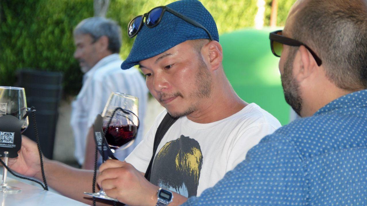 La gran fiesta del vino de Ribeira Sacra en imágenes