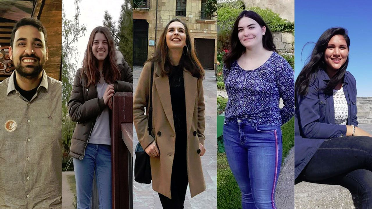 Los estudiantes entrevistados