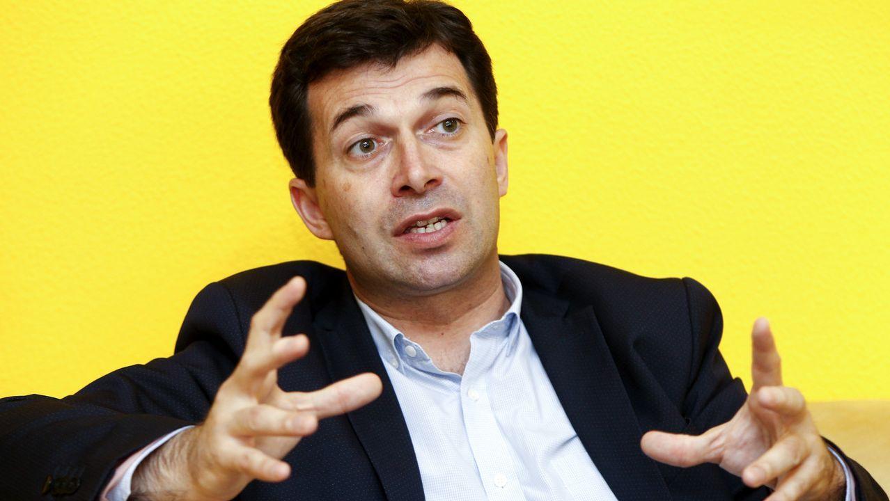 «A sociedade galega nos pide cambio» Gonzalo Caballero