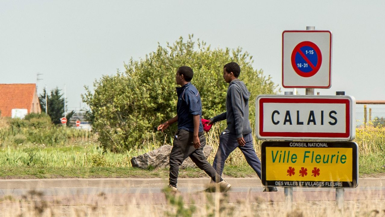 Nueva entrada masiva de inmigrantes en Ceuta.Las mafias llegan utilizar el interior de la motos de agua para transportar a los inmigrantes que pretenden llegar a España