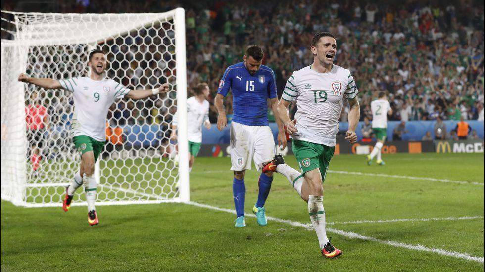 Juanfran avisa a Italia.Sergio Ramos se lamenta tras la derrota contra Italia