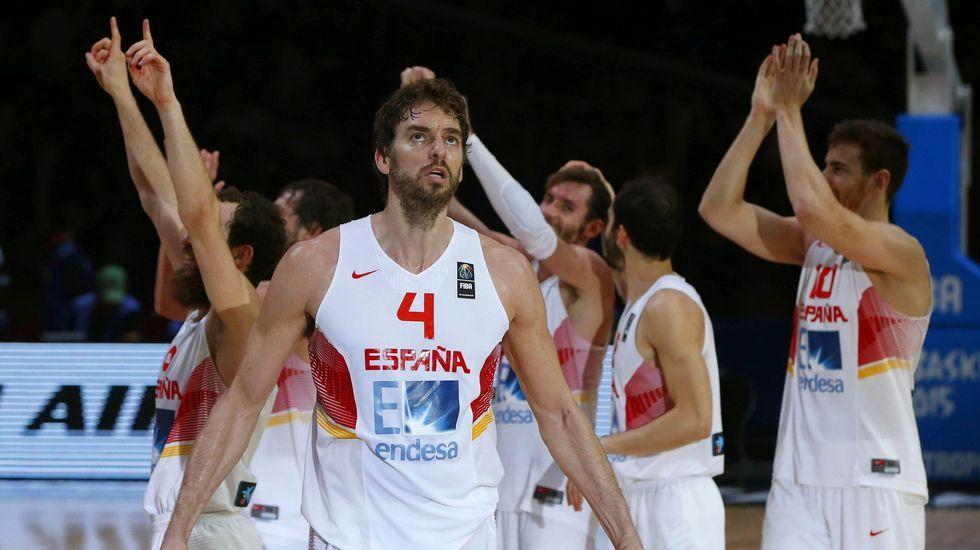 El partido de Eurobásket entre España y Francia