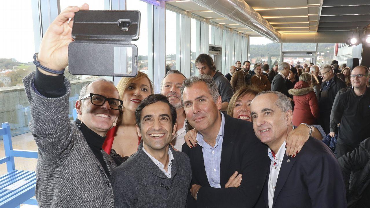 Ellos son las Medallas Castelao 2019.Funcionarios de la Xunta en Ourense