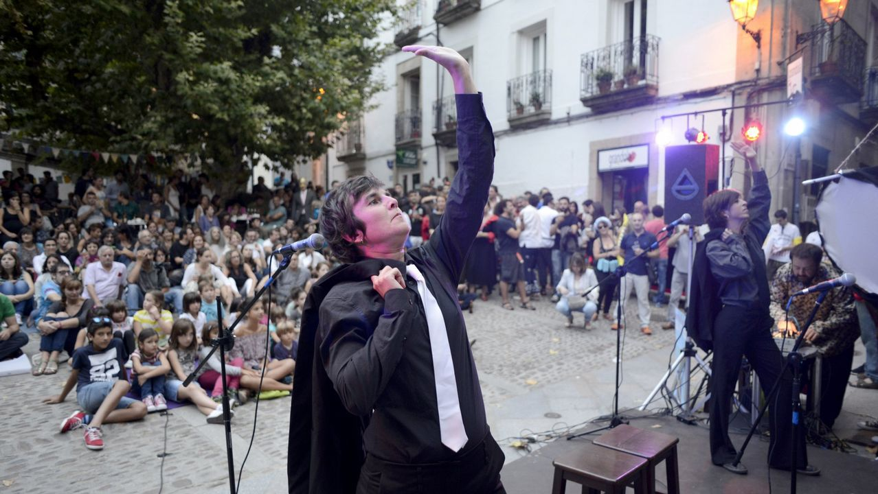 O Festival da Luz ilumina Boimorto