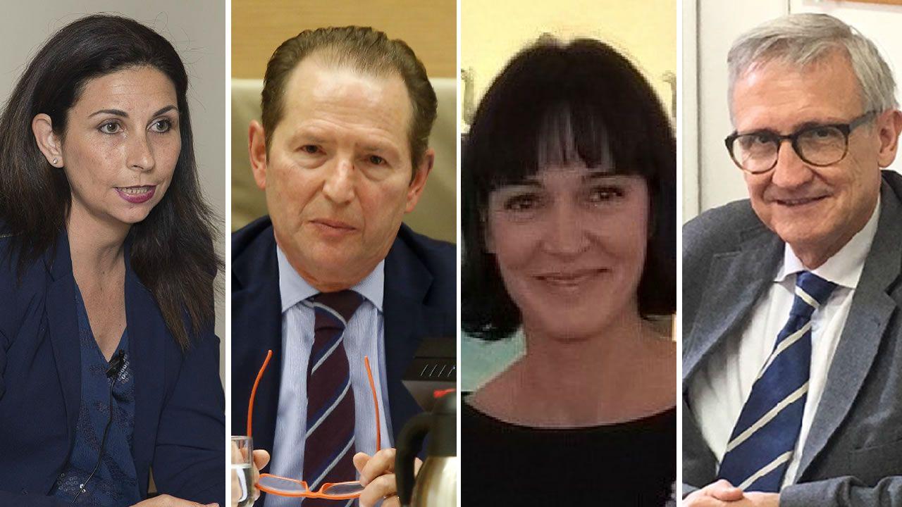 .Astrid Barrio, Roberto Blanco Valdés, Elena García-Guereta y Xavier Arbós