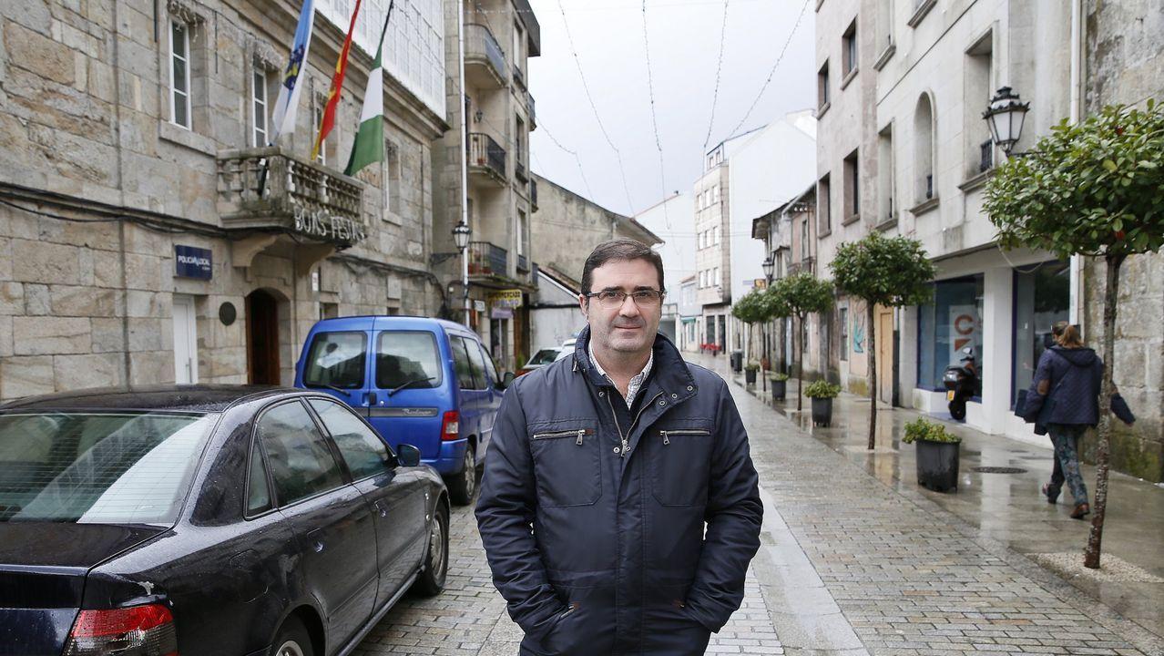 El exalcalde popular de A Cañiza, Miguel Domínguez