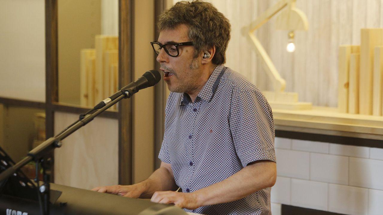 Dani Martin en la guillotina de «El Hormiguero».Dani Martín