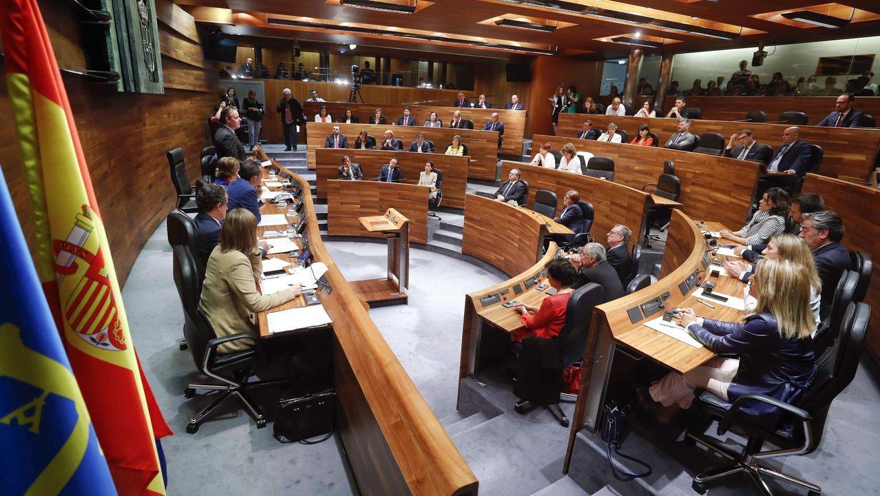 Ciudadanos oviedo.El pleno constituyente de la Junta General