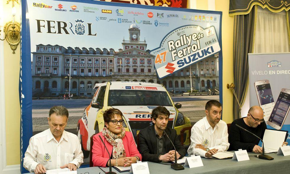 .La prueba fue presentada en la mañana de ayer en el Concello de Ferrol.
