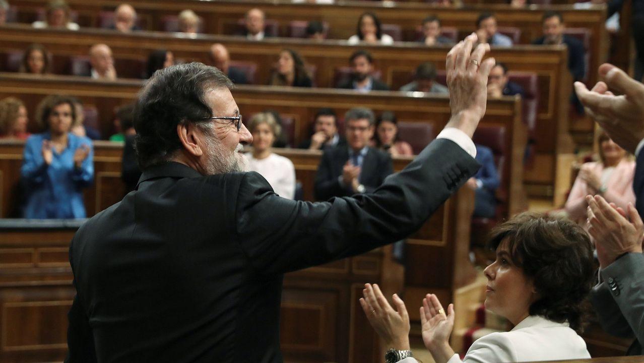 El primer acto de Gobierno sin Gobierno de Pedro Sánchez.Adrián Barbón en la Feria del Turismo Minero