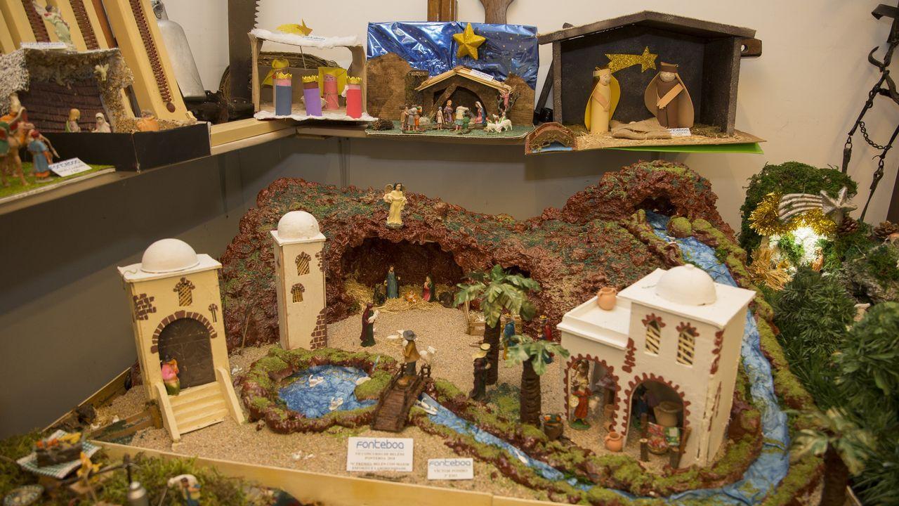 Los belenes de Fonteboa, puro talento creativo: ¡mira las imágenes!
