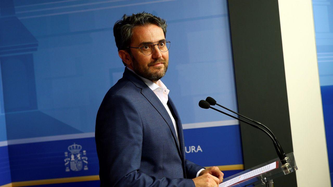 Màxim Huerta presenta su dimisión tras seis días como ministro.