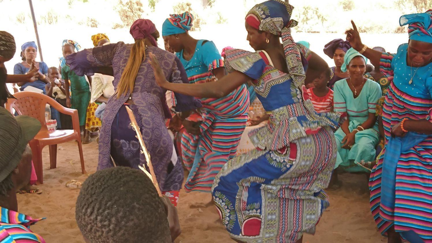 Diez días de acción solidaria en Senegal.