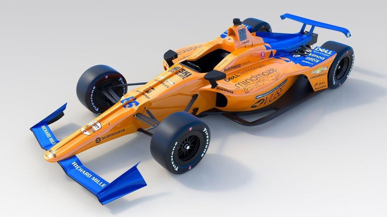 Coche de McLaren para las 500 Milas de Indianápolis